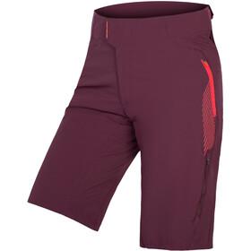 Endura Single Track Lite II Cycling Shorts red